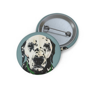 Spotty Pin Buttons - Sage