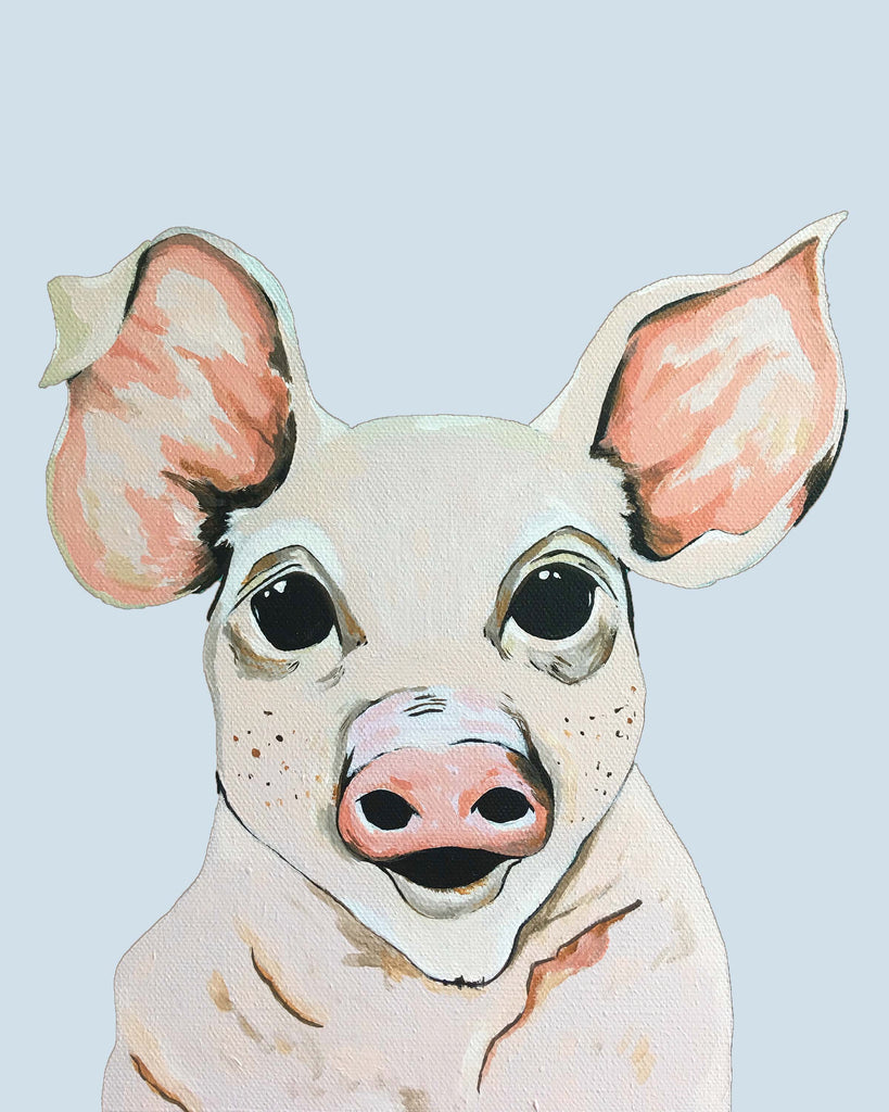 Print - Petey the Pig