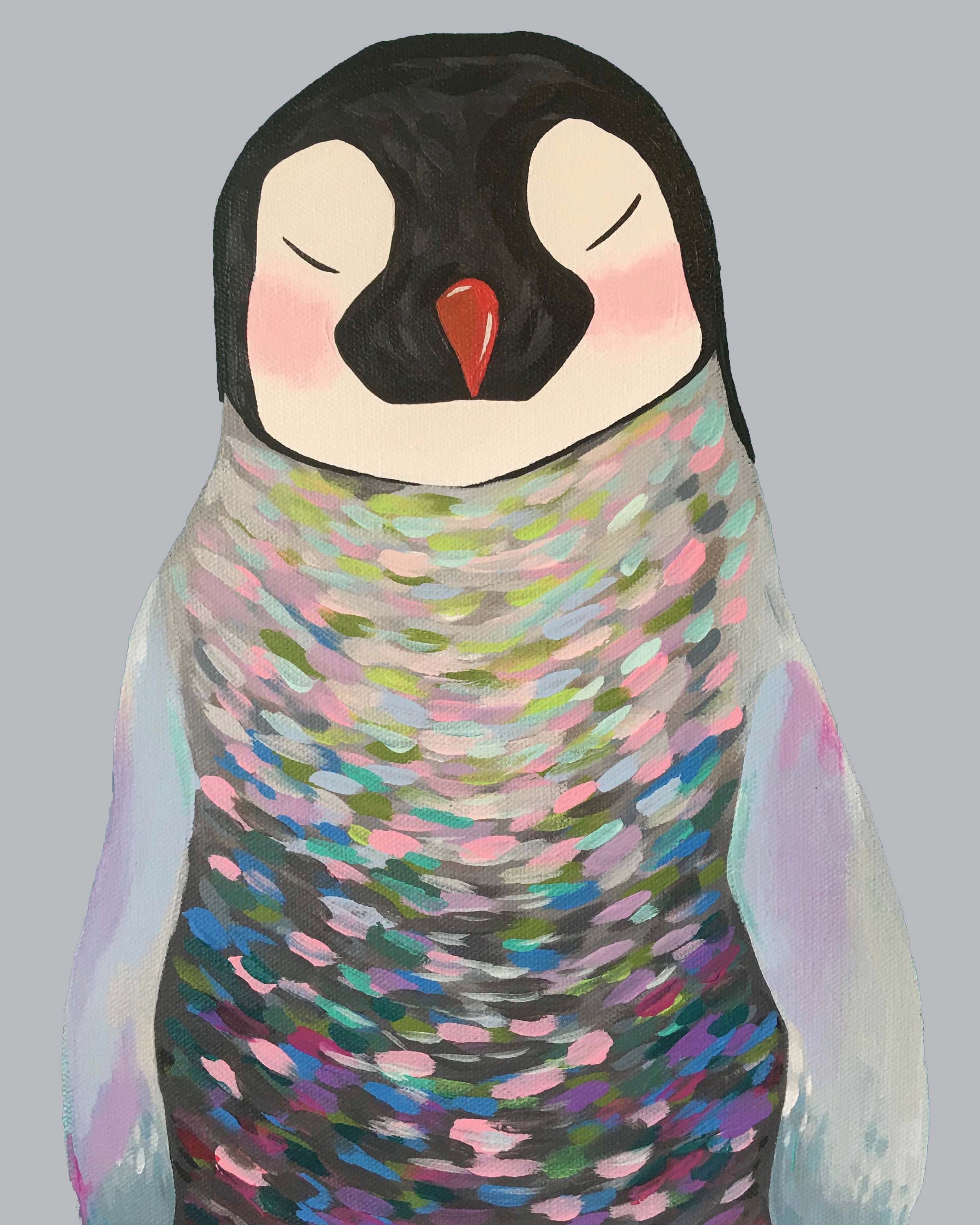 Print - Penny the Penguin