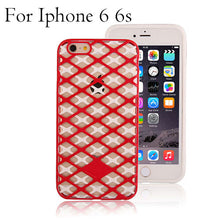 Grid Phone Cases For Iphone 6 / 6s / Plus
