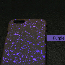 7 3D Matte Starry Sky Phone Cases For Iphone 7 6s 6 Plus SE 5 5s Case Fashion Ultra Thin Frosted PC Back Cover Stars Funda Capa