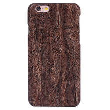 Fashion Wood Phone Cases For Iphone 5 5s SE 6 6s Plus Case Ultra thin Durable Soft TPU Silicone Silicon Wooden Back Cover Shell