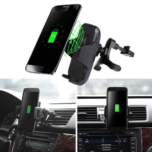 Car-charger Mount Wireless Charger Vehicle Dock  usb Charger for Samsung Galaxy S8 / S8 Plus