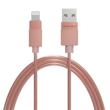 Top Quality Metal USB Cable 5V 2A Fast Charging Charger Cabo 1m High Strength Copper Wires Cord For iphones 5 and up