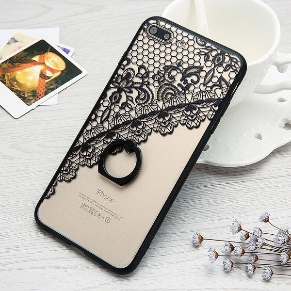 Newest Fashion Ring Grip Phone Cases For iphone 7 6 6S Plus Case 4.7