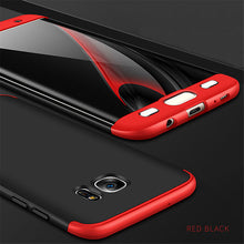 Luxury 360 Full Protection Phone Cases For Samsung Galaxy S7 edeg S8 Plus Moblie Phone Bag Capa Coque Slim Shockproof Armor Case