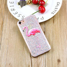 Glitter Powder Stars Phone Cases For iphone 7 6 6s Plus