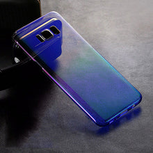 Colorful Phone Cases For Samsung Galaxy S8 Case Ultra thin Gradient Color aurora Fitted Cases For Samsung Galaxy S8 plus Cover