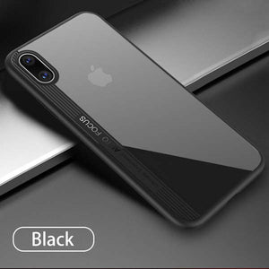 Ultra thin Clear Case for iphone X Fitted Cases Luxury Shockproof Armor Transparent PC + TPU Back Cover For iphoneX Phone Cases