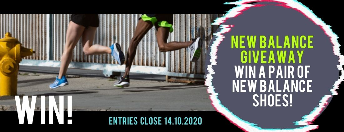 WIN A PAIR OF NEW BALANCE SHOES