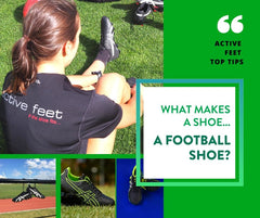What makes a shoe a football shoe?