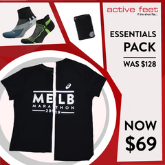 Melbourne Marathon Essentials Pack