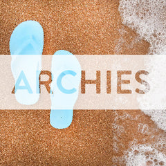 ARCHIES MEN AND WOMENS ARCH SUPPORT THONGS