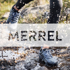 MERREL MEN AND WOMENS TRAIL SHOES