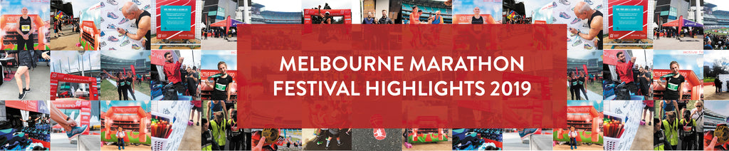 Melbourne Marathon highlights