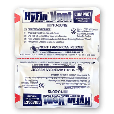 Hyfin® Vent | Chest and Seal Twin Pack