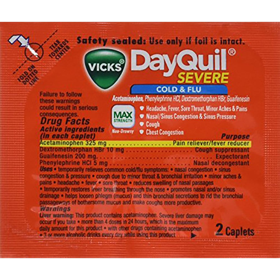 DayQuil Severe Cold & Flu