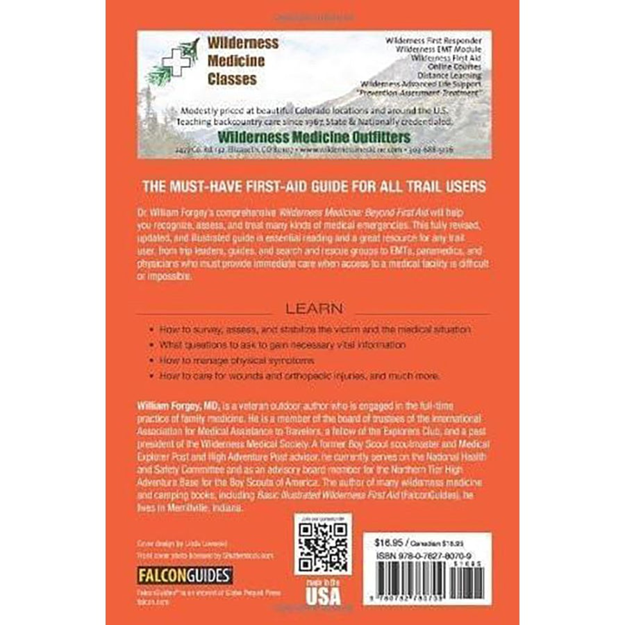 Wilderness Medicine: Beyond First Aid 6th Edition