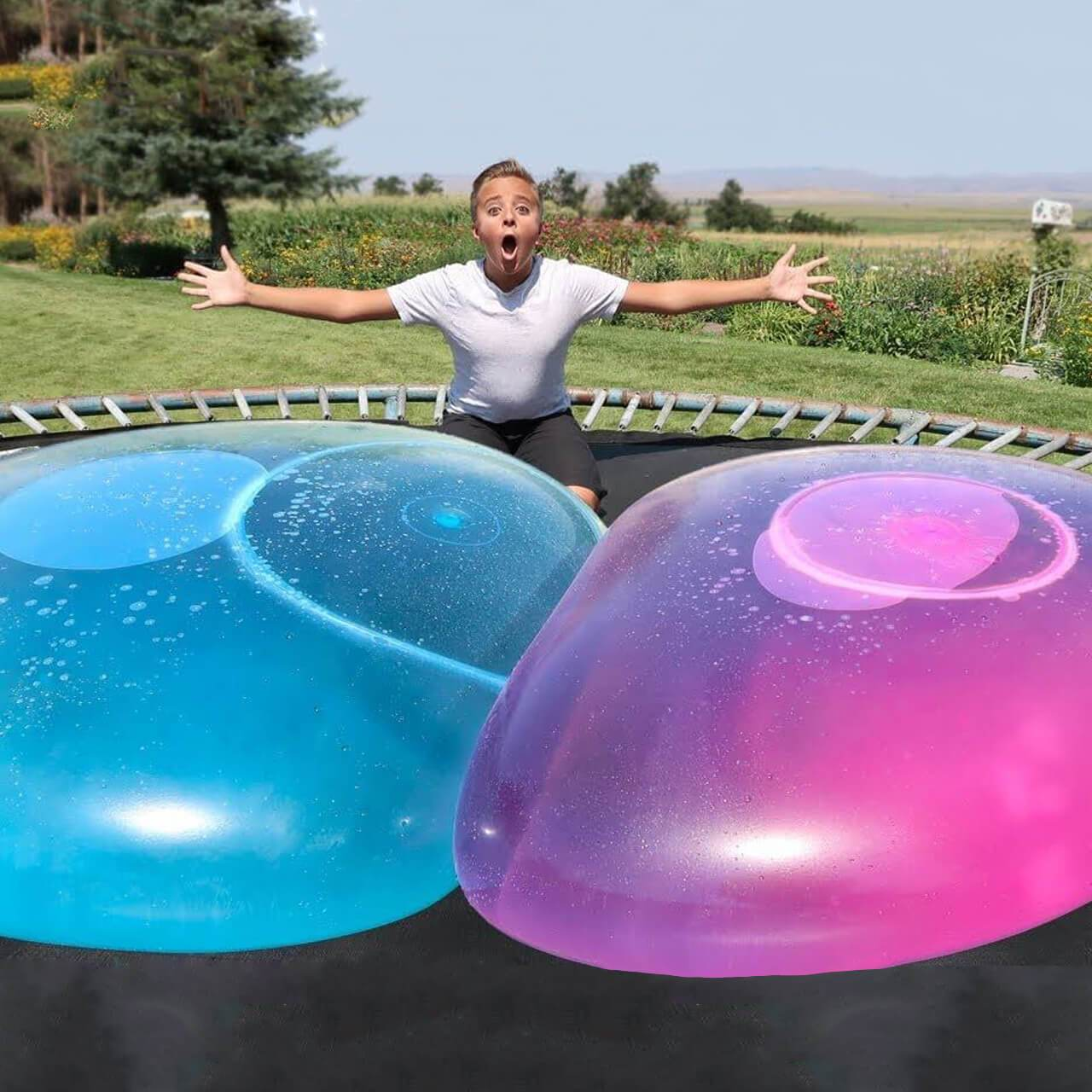 The Amazing Bubble Ball