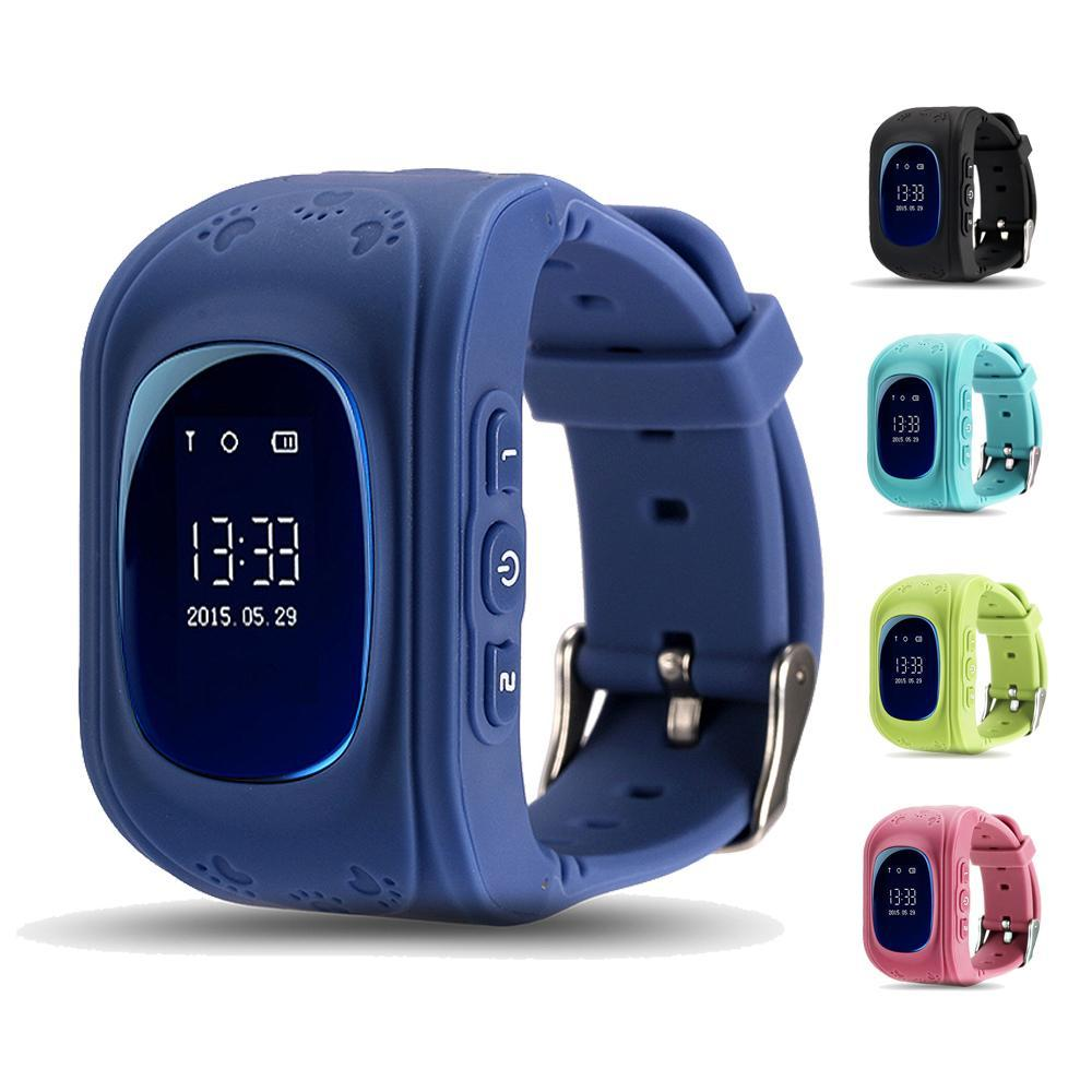 Smart GPS Tracking Watch For Kids