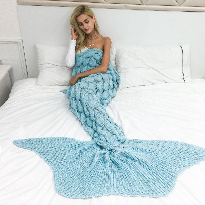 Magical Mermaid Throw - Super Comfy and Cool!