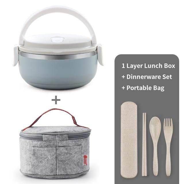 Thermal Big Capacity Lunch Box Set