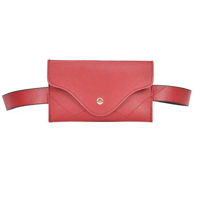 #TrendAlert - Leather Waist Belt Bumbag