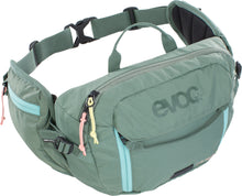 Evoc Hip Pack 3 Liter bike hydration hip pack olive green main