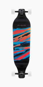 Landyachtz Evo 36 inch Spectrum Dropdown Freeride downhill racing longboard complete graphic