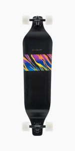 Landyachtz Evo 40 Spectrum Drop Down Downhill Freeride Long Board Complete Bottom Graphic