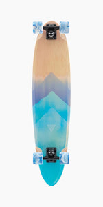 Landyachtz Super Chief Watercolor Pintail Longboard Complete Bottom