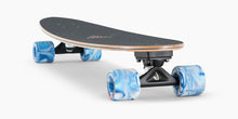 Landyachtz Super Chief Watercolor Pintail Longboard Complete Top Profile Angle