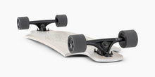 Landyachtz Drop Hammer White Pinecone Longboard Complete Grounded Bottom View