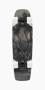 Landyachtz Dinghy Coffin Engraving Longboard Complete bottom view
