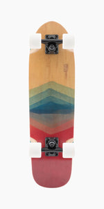 Landyachtz Dinghy FG Watercolor Longboard Complete bottom view