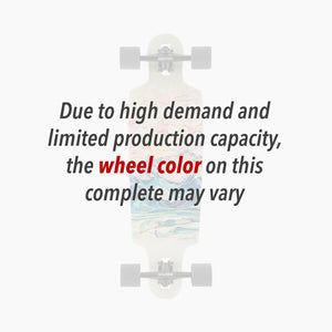 Wheel color may vary