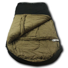 LoneWolf -30 Degree Oversized Premium Comfort Canvas Sleeping Bag