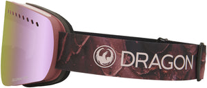 Dragon NFXs Rose LL Pink Ion Goggle Side Band View