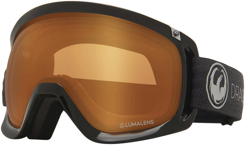 Dragon D3 OTG Echo Photochromic Amber Goggle Profile View