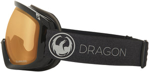 Dragon D3 OTG Echo Photochromic Amber Goggle Side Band View