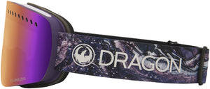 Dragon NFXs Lavender LL Purple Ion Goggle Side Band View