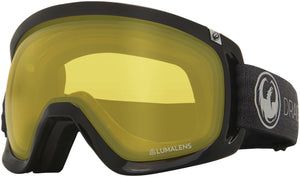 Dragon D3 OTG Echo Photochromic Yellow Goggle Profile View
