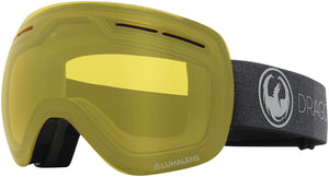 Dragon X1s Echo Photochromic Yellow Goggle Profile View