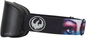Dragon NFX2 Goggle Blake Paul Signature LL Dark Smoke Side Band View
