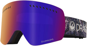 Dragon NFXs Lavender LL Purple Ion Goggle Profile View