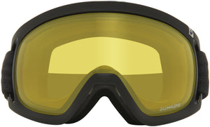 Dragon D3 OTG Echo Photochromic Yellow Goggle Front Lens View