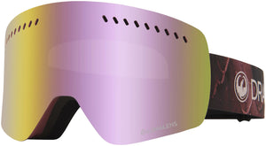 Dragon NFXs Rose LL Pink Ion Goggle Profile View