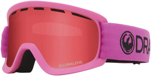 Dragon LILd Soft Pink Lumalens Rose Youth Child Goggle Profile View