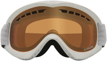 Dragon DX White Lumalens Amber Goggle Front Lens View