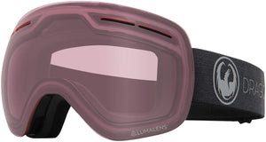 Dragon X1s Echo Photochromic Light Rose Goggle Profile View